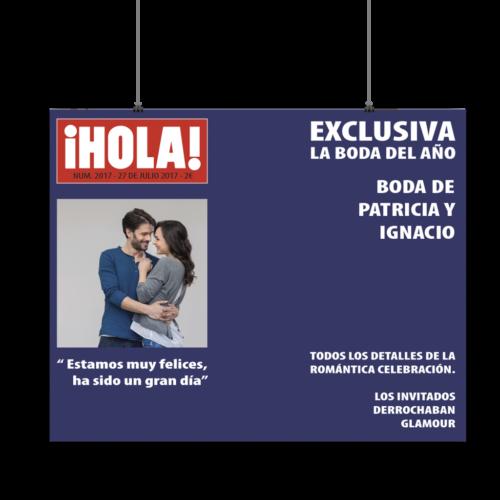 Photocall Hola