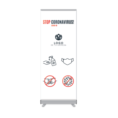 RollUp Stop Coronavirus
