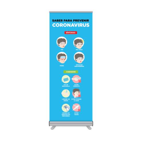 Rollup Prevención Coronavirus