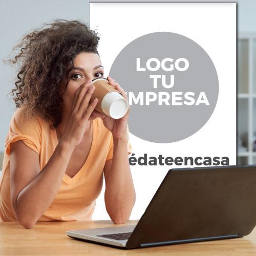 Fondo Videollamada Corporativo 200x200cm