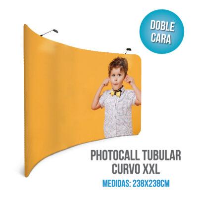 Photocall tubular curvo XXL