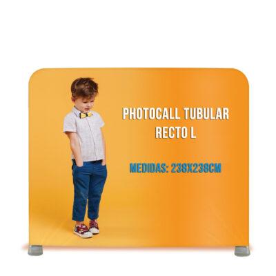Photocall tubular recto L